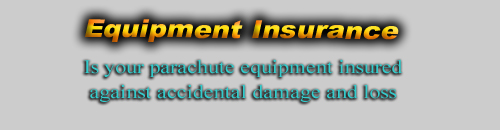 Parachute Equipment Insurance